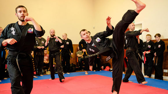 Learning Kuk Sool Won in Kirkcaldy Fife