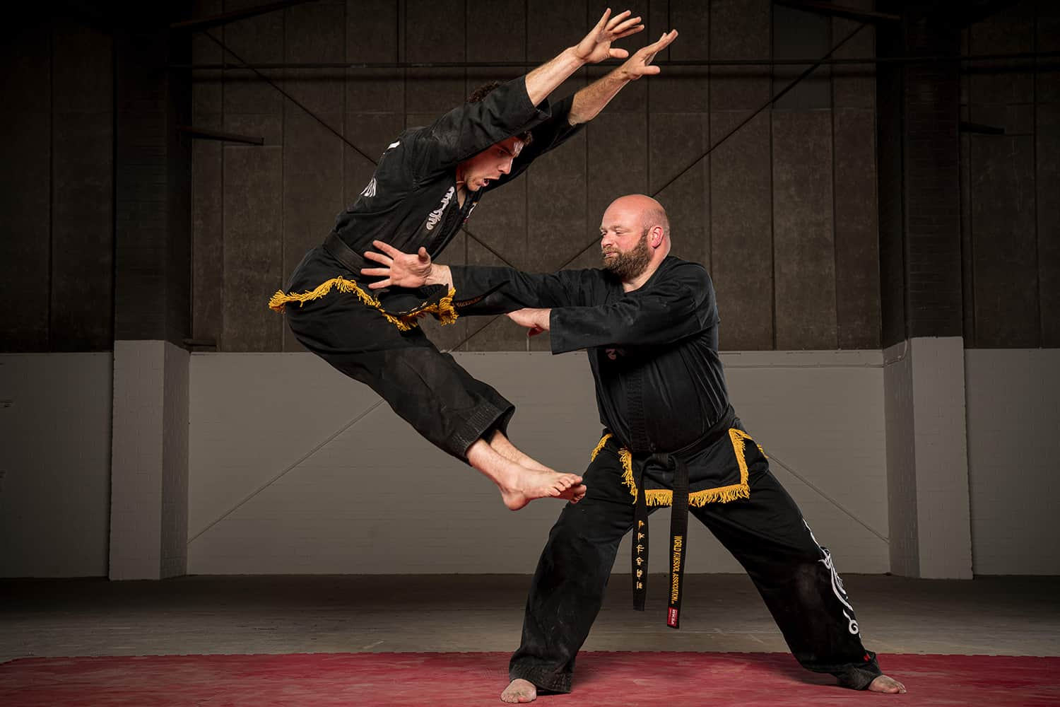 Bryan Jamieson Kuk Sool Won black belt teaching