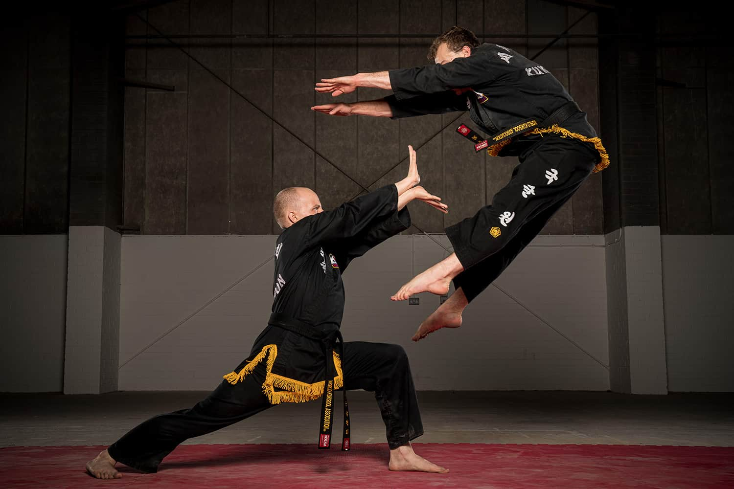 Ronan Roy Kuk Sool Won black belt training in Kirkcaldy