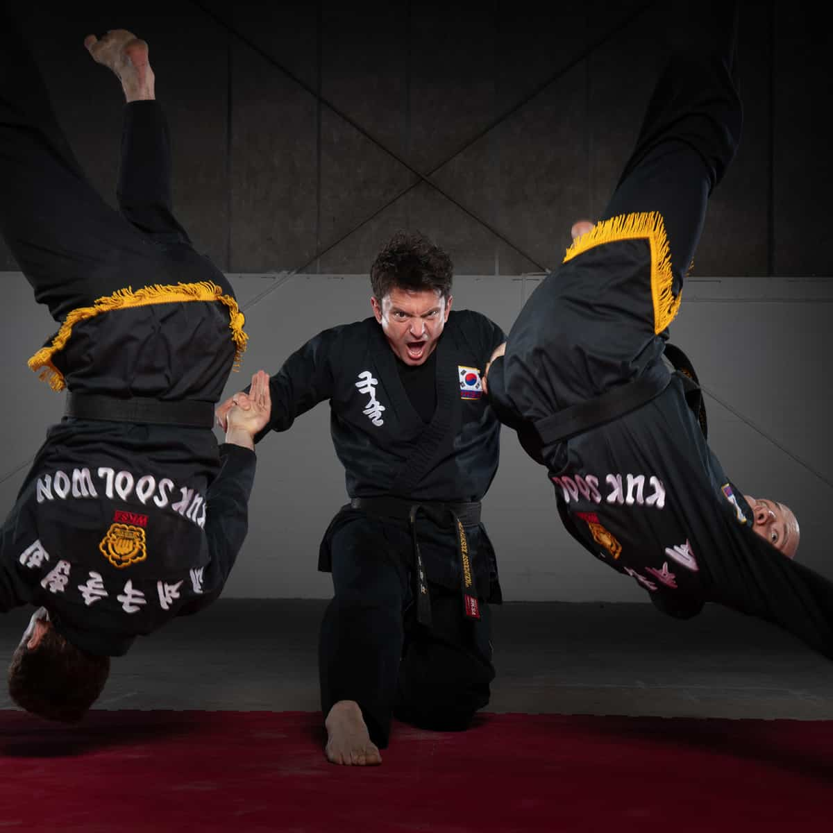 Thomas Evangelopoulos Kuk Sool Won Training in Kirkcaldy