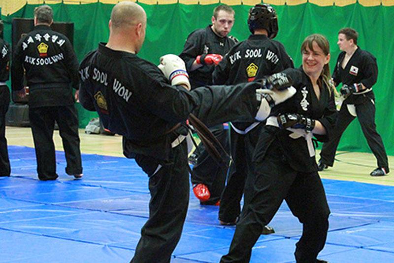 Kuk Sool Won Kirkcaldy sparring class