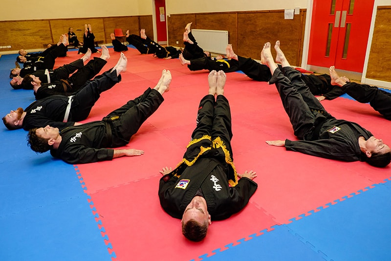 Kuk Sool Won lesson in Kirkcaldy, Fife
