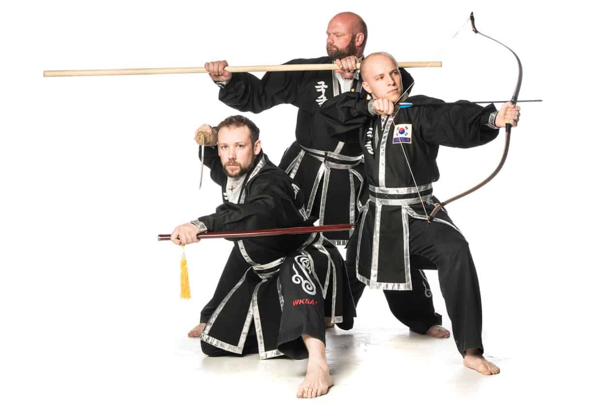 Kuk Sool Won weapon used by black belts